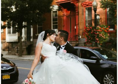 Jessica & Alfredo's Downtown Albany Wedding