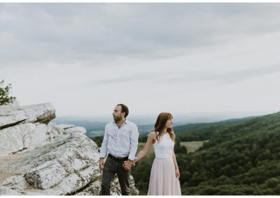 Engagement Photos at Mohonk Mountain Preserve / New York Engagement Photographer