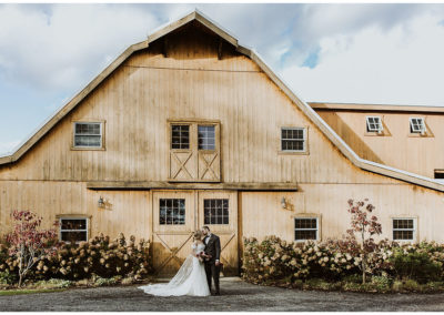 nicole + brian / oak hill on hudson wedding
