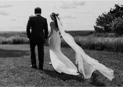 sam + josh / club helsinki hudson, upstate new york wedding