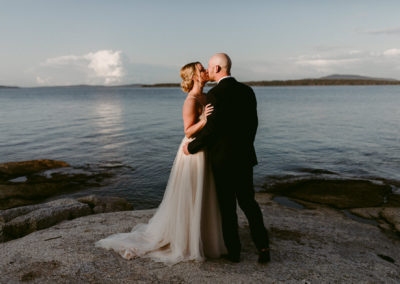 Intimate Wedding at The Lookout Inn in Brooklin, Maine / Maine Wedding Photographer